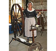 Spinning a Yarn Photographic Print