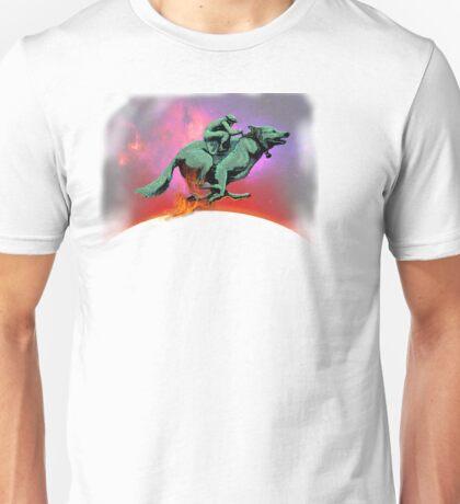 SPACEDOG RACER Unisex T-Shirt