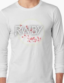 RWBY red moon blossoms Long Sleeve T-Shirt