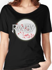 RWBY red moon blossoms Women's Relaxed Fit T-Shirt