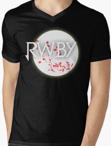 RWBY red moon blossoms Mens V-Neck T-Shirt