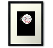 RWBY red moon blossoms Framed Print