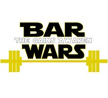 Star Wars - The Gains Awaken Photographic Print