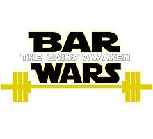 Star Wars - The Gains Awaken Photographic Print