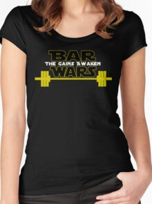 Star Wars - The Gains Awaken Women's Fitted Scoop T-Shirt