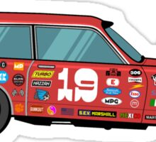 Racer Sticker