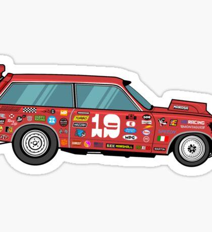 Racer Sticker