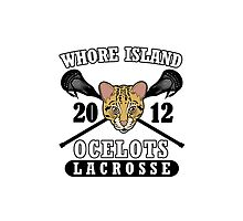 Go Ocelots! (Black Fill) by Beefcake109
