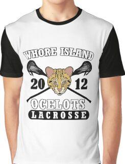 Go Ocelots! (Black Fill) Graphic T-Shirt