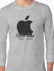 Steve Jobs Tribute Long Sleeve T-Shirt