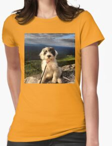 Mountain Pup Womens Fitted T-Shirt