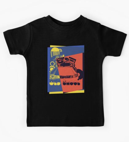 Retro Old School Pop Art Kids Tee