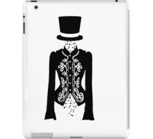 black rose ghost iPad Case/Skin