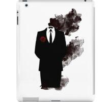 Black smoke  iPad Case/Skin