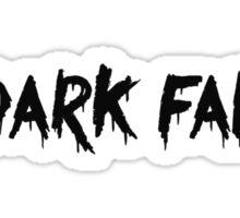 dark fae Sticker