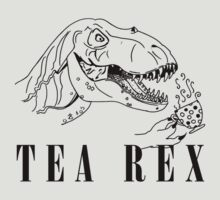 TEA REX MEME by SoftSocks