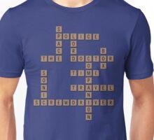 Scrabble Who Unisex T-Shirt