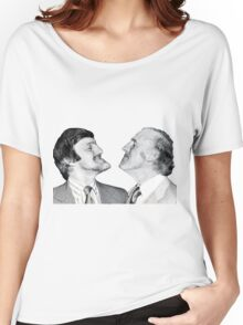 Jimmy and Bruce, Chin Up Women's Relaxed Fit T-Shirt
