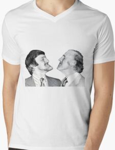 Jimmy and Bruce, Chin Up Mens V-Neck T-Shirt