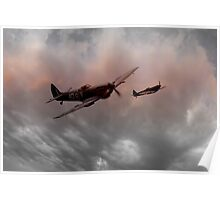 Spitfires Nightfall Poster