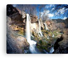 Rifle Falls, Rifle, Colorado Canvas Print