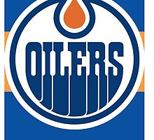 Edmonton Oilers Phone Case by Bryan Buckingham-Jacobs