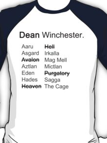 Around the Realms- Dean T-Shirt