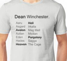 Around the Realms- Dean Unisex T-Shirt