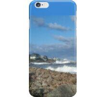 Crashing Waves On Rocky Shoreline iPhone Case/Skin