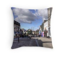 Keswick Main Street Throw Pillow