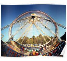 Ferris Wheel 2, Champlain Valley Fair, Vermont Poster