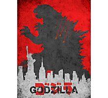 Godzilla 2014 Photographic Print