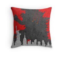 Godzilla 2014 Throw Pillow