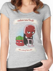 Medium Rare Druitt - Tee Women's Fitted Scoop T-Shirt