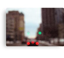 Sunday in the city Canvas Print