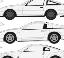 Nissan Fairlady Z History Sticker