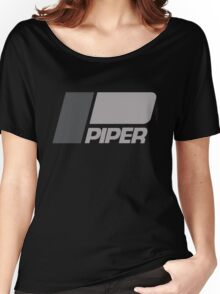 PIPER AIRCRAFT - RETRO LOW VIZ Women's Relaxed Fit T-Shirt
