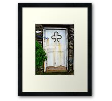 Doorway to Ireland Framed Print