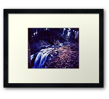 Honey Hollow 4, Bolton, Vermont Framed Print