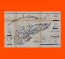 Civil War Maps 0290 Coast of South Carolina from Charleston to Hilton Head Kids Tee