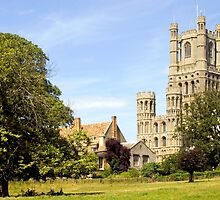 Ely Cathedral Cambridgeshire by Kawka