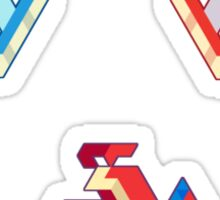 Trixel Water Pokemon Sticker