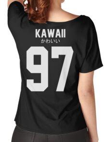 Aloha アロハ Kawaii かわいい Women's Relaxed Fit T-Shirt