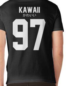 Aloha アロハ Kawaii かわいい Mens V-Neck T-Shirt