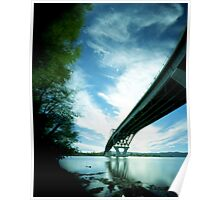 Crown Point Bridge 2, Vermont Poster