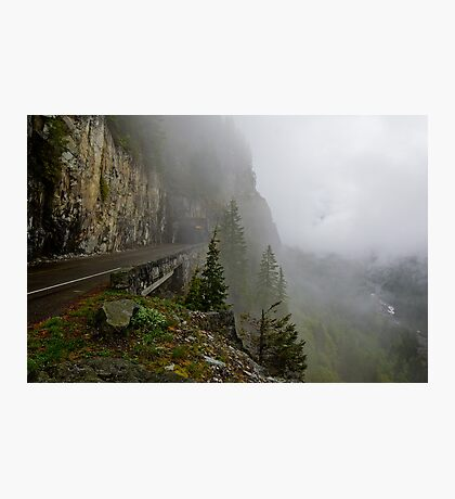 Road into the Clouds Photographic Print
