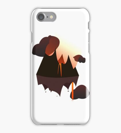 Mordor in the Sky iPhone Case/Skin