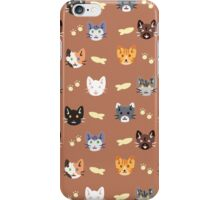 Kitty surprise iPhone Case/Skin