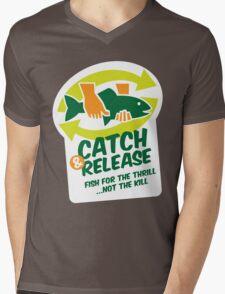Catch & Release Mens V-Neck T-Shirt