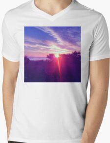 Cocoa Sunrise Mens V-Neck T-Shirt
